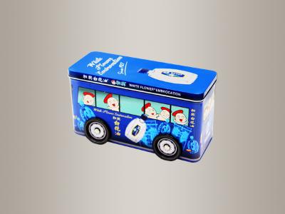 金属糖果包装盒,汽车型罐D212*84*110mm