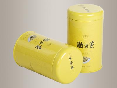 菊花茶铁盒,菊花铁罐