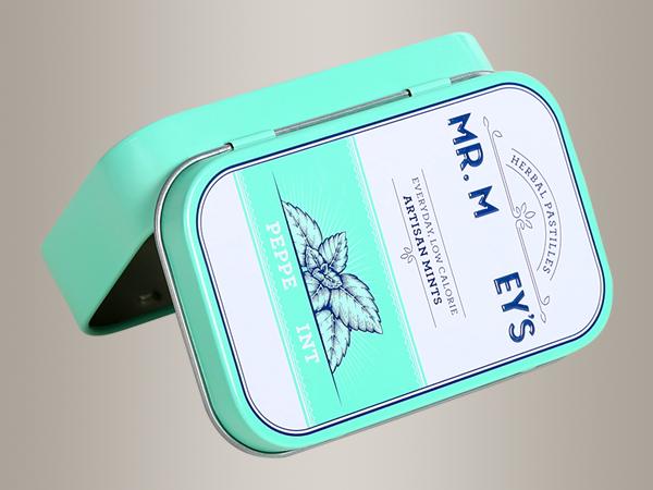薄荷糖铁罐,薄荷糖铁盒包装